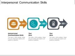 Interpersonal Communication Skills Ppt PowerPoint Presentation Outline Icon Cpb