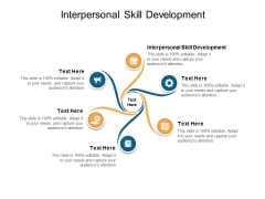Interpersonal Skill Development Ppt PowerPoint Presentation Show Portfolio Cpb