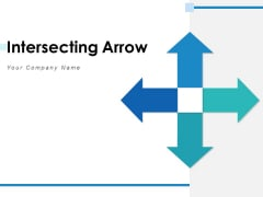 Intersecting Arrow Marketing Plan Ppt PowerPoint Presentation Complete Deck