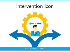 Intervention Icon Business Discussion Ppt PowerPoint Presentation Complete Deck