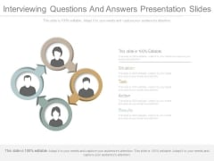 Interviewing Questions And Answers Presentation Slides