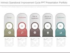 Intrinsic Operational Improvement Cycle Ppt Presentation Portfolio
