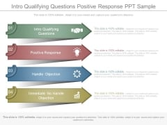 Intro Qualifying Questions Positive Response Ppt Sample
