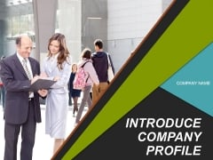 Introduce Company Profile PowerPoint Presentation Complete Deck With Slides