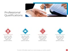 Introduce Yourself Professional Qualifications Ppt Layouts Designs Download PDF