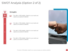 Introduce Yourself Swot Analysis Option 2 Of 2 Ppt Layouts PDF