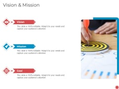 Introduce Yourself Vision And Mission Ppt File Templates PDF