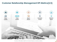 Introducing CRM Framework Within Organization Customer Relationship Management KPI Metrics Leads Brochure PDF