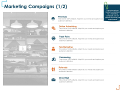 Introducing CRM Framework Within Organization Marketing Campaigns Advertising Ppt Visual Aids Infographic Template PDF