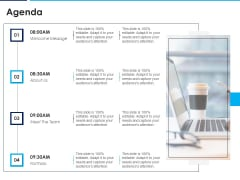 Introducing Inbound Marketing For Organization Promotion Agenda Icons PDF