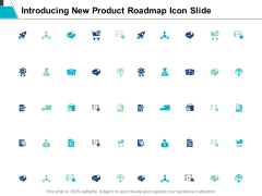 Introducing New Product Roadmap Icon Slide Business Ppt Powerpoint Presentation File Designs
