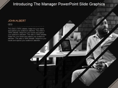 Introducing The Manager Ppt PowerPoint Presentation Ideas