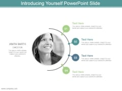Introducing Yourself Powerpoint Slide