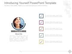 Introducing Yourself Ppt PowerPoint Presentation Design Templates