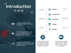 Introduction Manufacturer Ppt Powerpoint Presentation File Skills