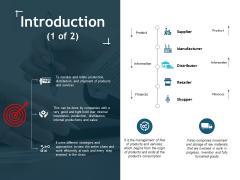 Introduction Manufacturer Ppt Powerpoint Presentation File Skills