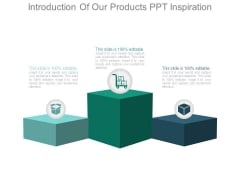 Introduction Of Our Products Ppt Inspiration