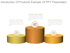 Introduction Of Products Example Of Ppt Presentation