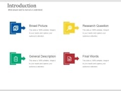 Introduction Ppt PowerPoint Presentation Professional Introduction