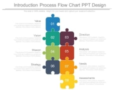 Introduction Process Flow Chart Ppt Design
