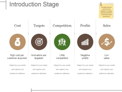 Introduction Stage Ppt PowerPoint Presentation Infographic Template Graphics Template