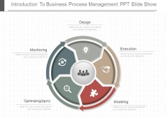 Introduction To Business Process Management Ppt Slide Show