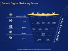 Introduction To Digital Marketing Models Generic Digital Marketing Funnel Ppt Show Shapes PDF