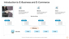 Introduction To E Business And E Commerce Ppt Outline Slides PDF