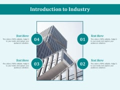 Introduction To Industry Ppt PowerPoint Presentation Icon Outline