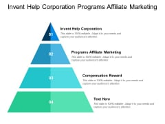 Invent Help Corporation Programs Affiliate Marketing Compensation Reward Ppt PowerPoint Presentation Layouts Layout Ideas