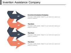 Invention Assistance Company Ppt PowerPoint Presentation Layouts Slides Cpb