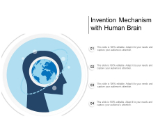 Invention Mechanism With Human Brain Ppt Powerpoint Presentation Layouts Slide