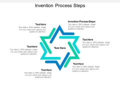 Invention Process Steps Ppt PowerPoint Presentation Layouts Images Cpb