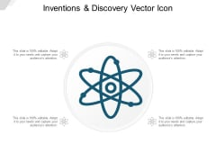 Inventions And Discovery Vector Icon Ppt Powerpoint Presentation Portfolio Example