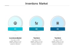 Inventions Market Ppt PowerPoint Presentation Icon Objects Cpb