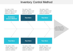 Inventory Control Method Ppt PowerPoint Presentation Professional Layout Cpb