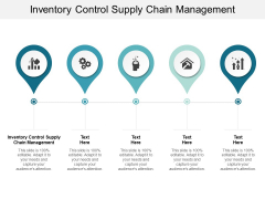 Inventory Control Supply Chain Management Ppt PowerPoint Presentation Pictures Portrait Cpb