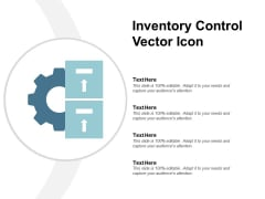 Inventory Control Vector Icon Ppt PowerPoint Presentation Infographic Template Microsoft