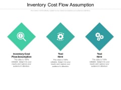 Inventory Cost Flow Assumption Ppt PowerPoint Presentation Model Cpb