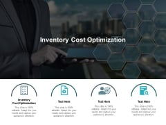 Inventory Cost Optimization Ppt PowerPoint Presentation Styles Pictures Cpb Pdf