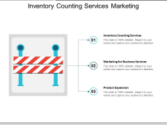 Inventory Counting Services Marketing For Business Services Product Expansion Ppt PowerPoint Presentation Gallery Smartart