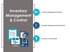 Inventory Management And Control Ppt PowerPoint Presentation Portfolio Graphics