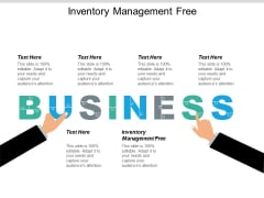 Inventory Management Free Ppt PowerPoint Presentation Icon Outline Cpb