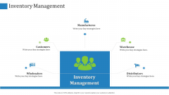 Inventory Management Manufactures Ppt Infographic Template Structure PDF