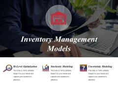 Inventory Management Models Ppt PowerPoint Presentation Background Image