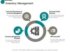 Inventory Management Ppt Powerpoint Presentation Slides Graphics