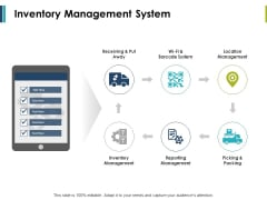 Inventory Management System Ppt PowerPoint Presentation Show Shapes