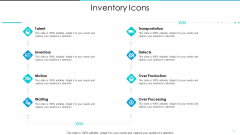 Inventory Optimization Inventory Icons Ppt Slides Styles PDF