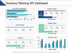 Inventory Planning Kpi Dashboard Ppt PowerPoint Presentation Model Show
