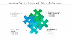 Inventory Planning Process With Delivery Performance Ppt Pictures Themes PDF